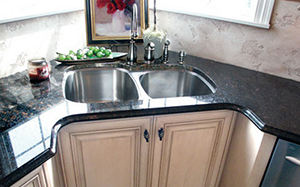 Image: IPT Sink, Cleaning, TTS Granite, Care, Maintenance